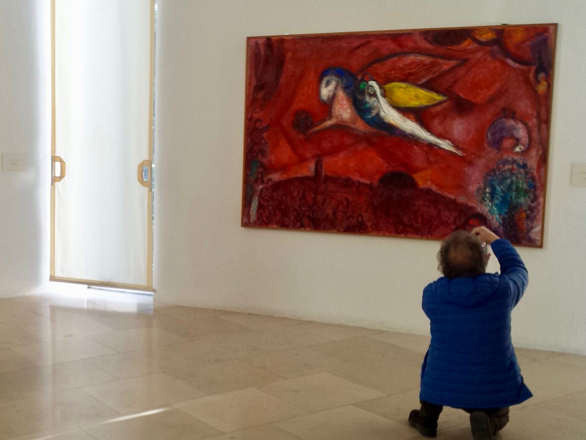 The Marc Chagall National Museum in Nice, French Riviera
