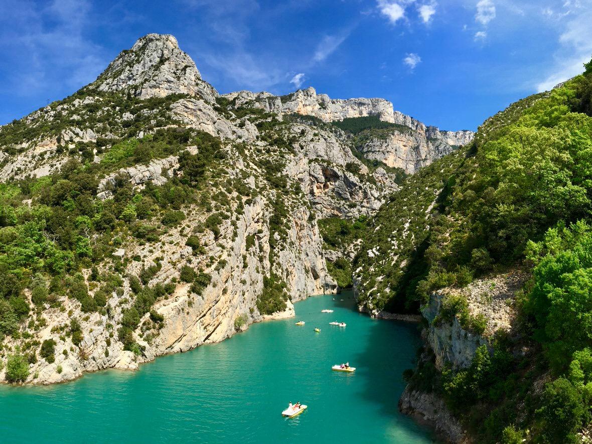 Verdon gorge provence france the second deepest gorge - Location gorge du verdon avec piscine ...