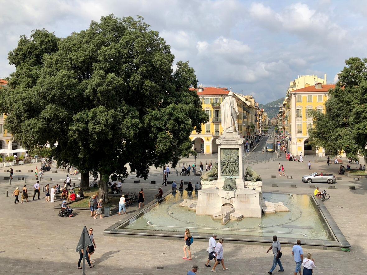 Garibaldi Square in Nice, France