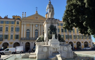 Garibaldi Square in Nice, France