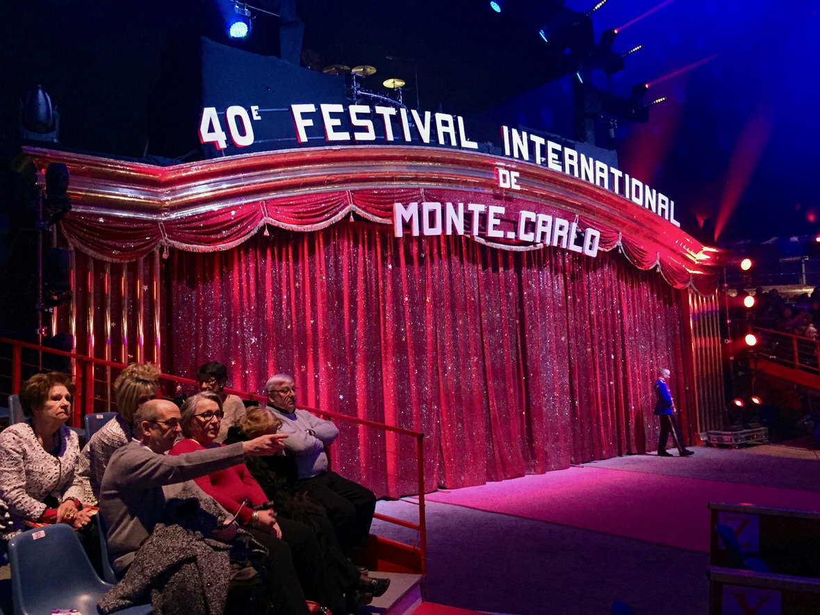 The Monte Carlo International Circus Festival in Monaco