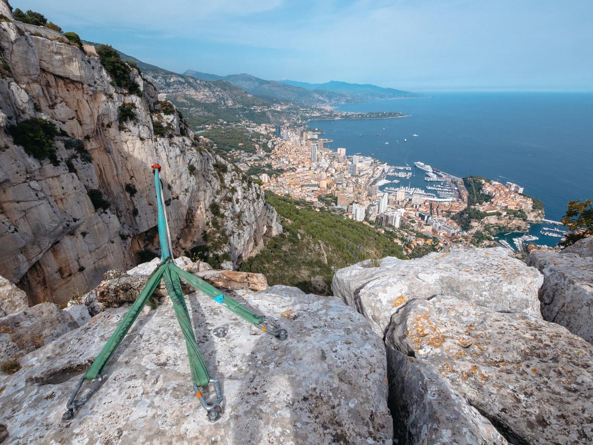 Tete de Chien (Dog's Head), a rock above Monaco