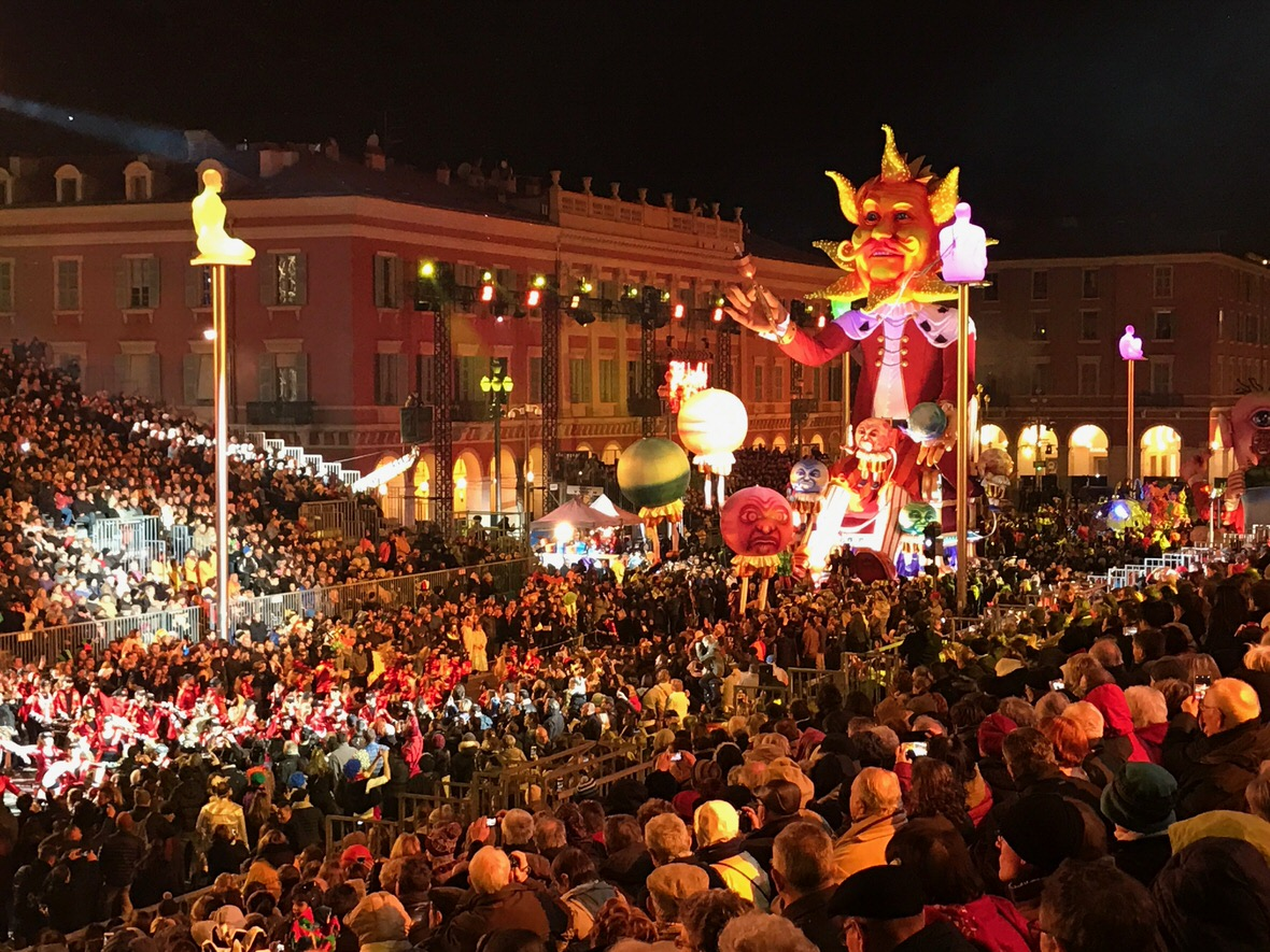 Carnival in Nice, French Riviera
