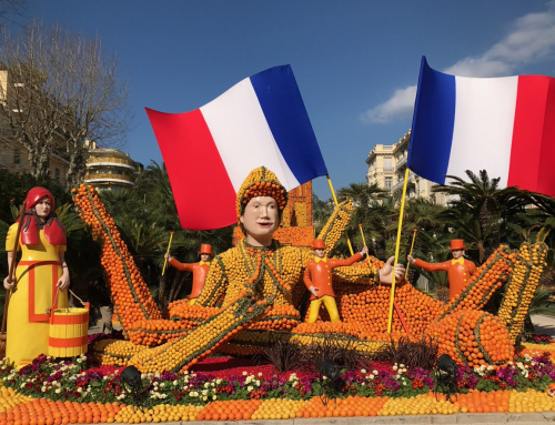 The Lemon Festival in Menton