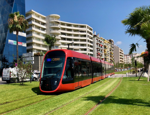 Public transport in Nice: buses and trams
