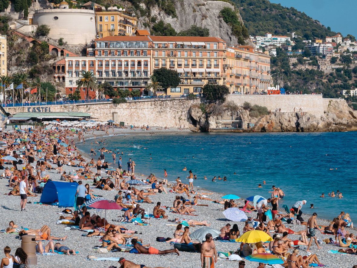 One day in Nice: the beach in Nice