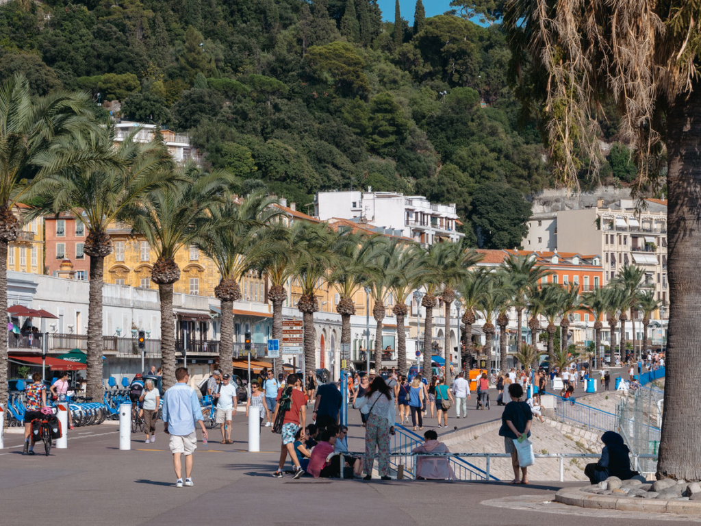 One day in Nice: Promenade des Anglais in Nice, France