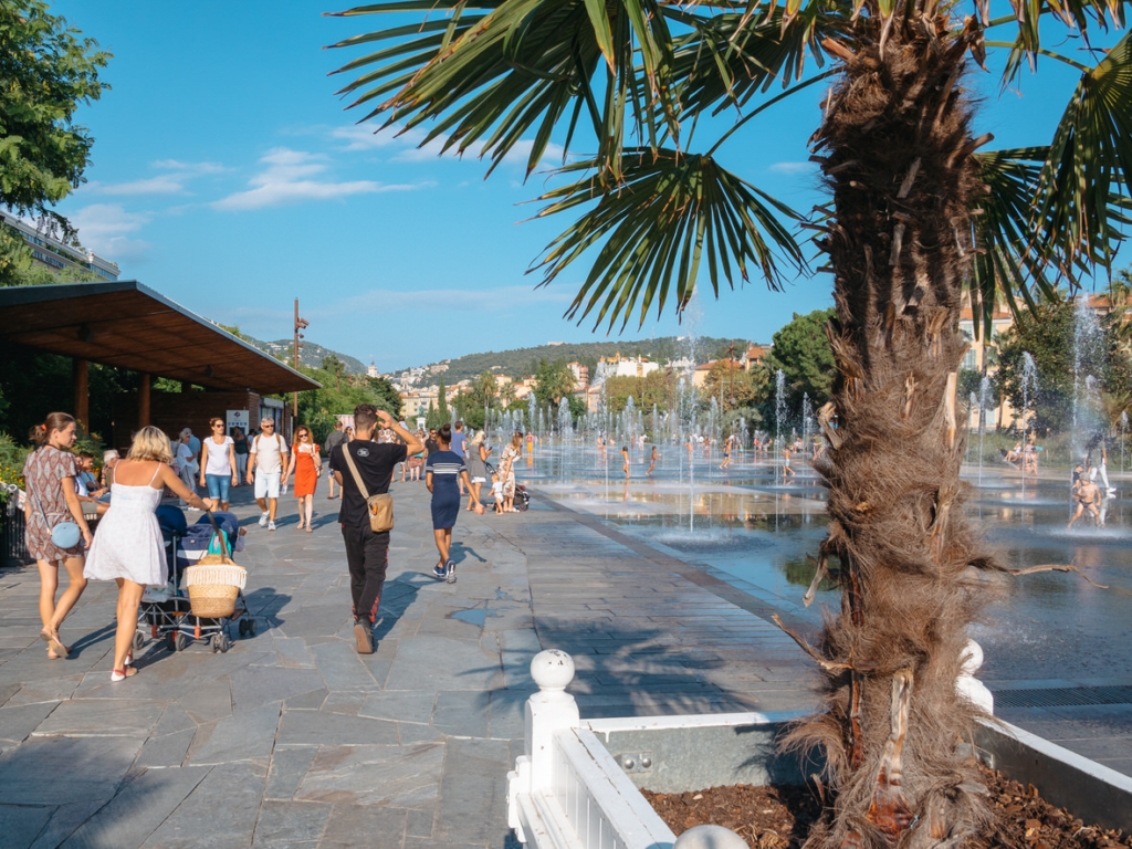 One day in Nice: Paillon Promenade