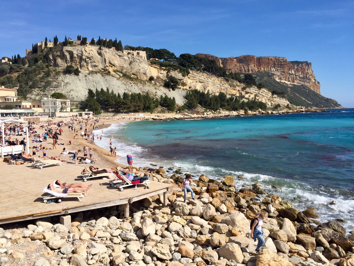 Cassis and Cap Canaille, France