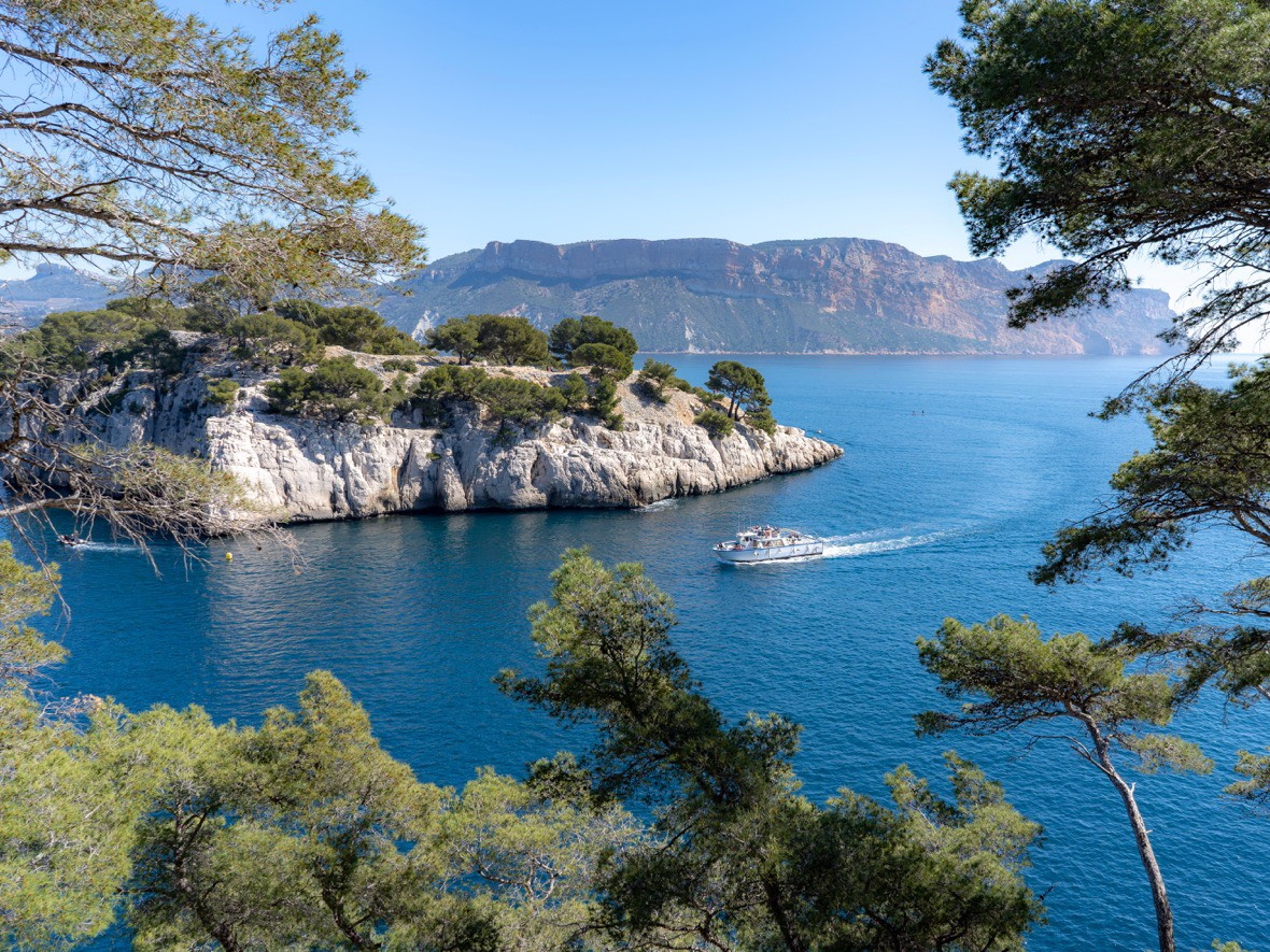 The Calanques and Cap Canaille