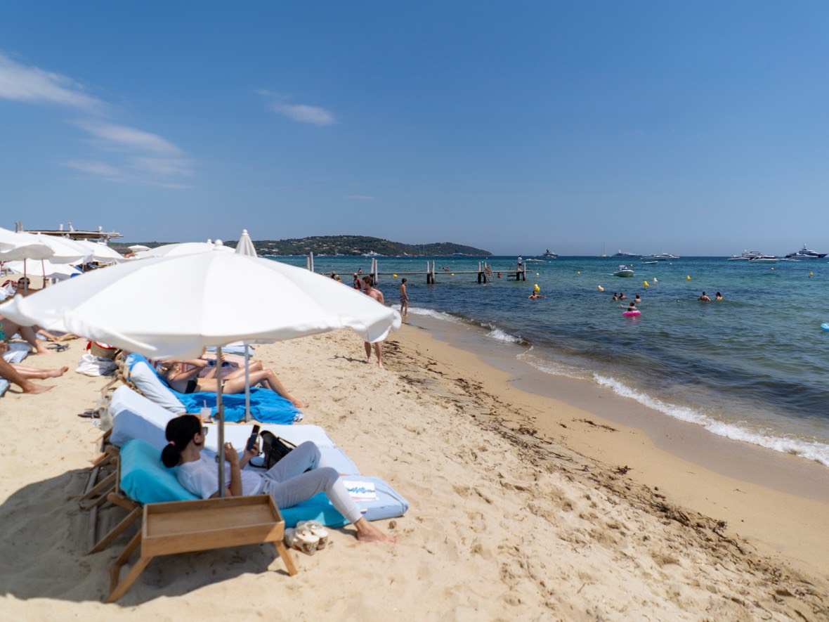 Pampelonne Beach, Saint-Tropez (French Riviera)
