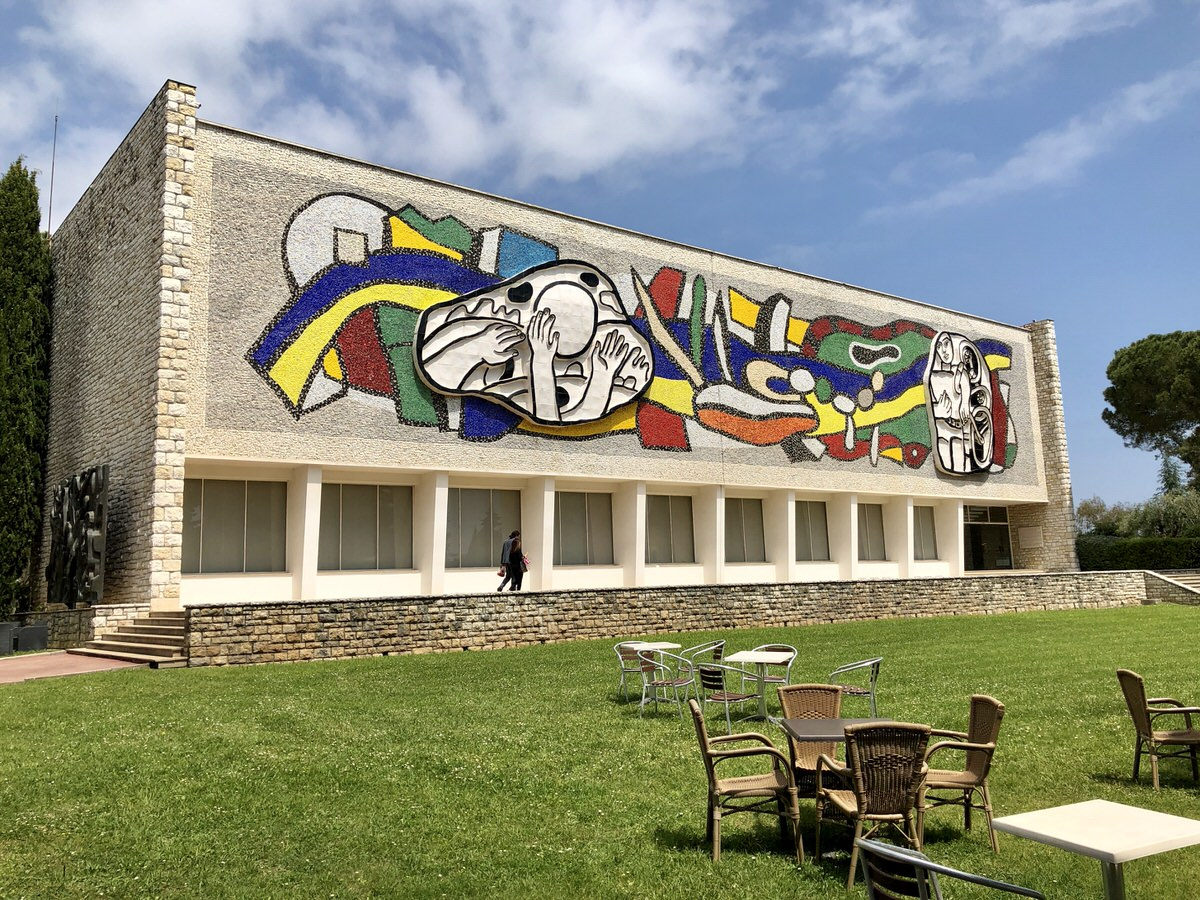 The Fernand Léger Museum in Biot