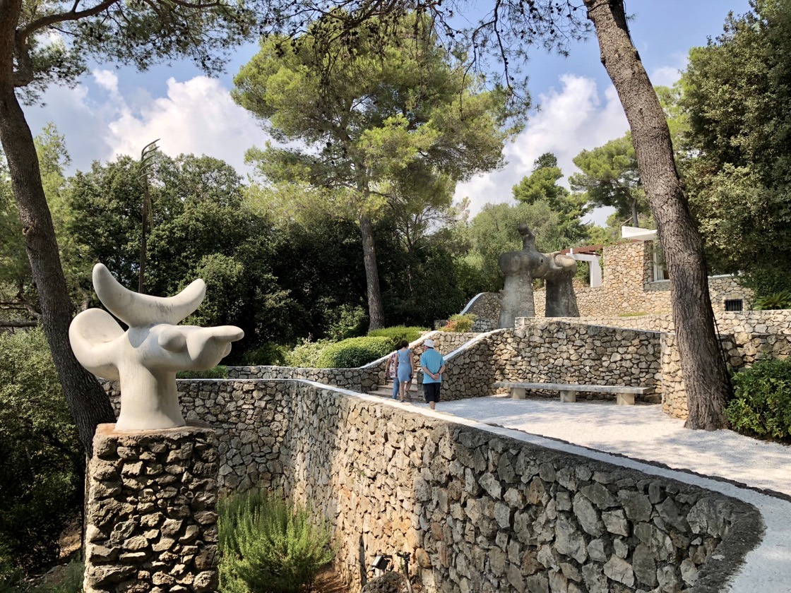 Fondation Maeght - a private museum on the French Riviera